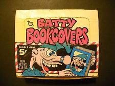 1968 BATTY BOOK COVERS DISPLAY BOX TOPPS