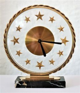 Superbe horloge Art Déco BAYARD 8 days french clock
