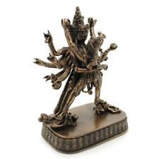 "TANTRIC BUDDHA SHAKTI STATUE 6"" Bronze Resin Buddhist Paramasukha HIGH QUALITY"