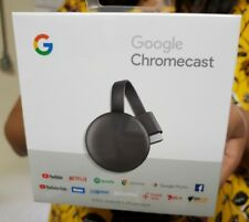 Google Chromecast (3rd Generation) HD Media Streamer - Grey - 2018 Model