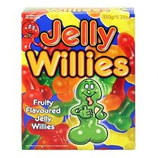 Jelly Willies Sweets Hen Stag Night Adult Candy Willy Penis Fun Sexy Party Gift