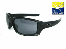 Oakley STRAIGHTLINK 9331 02 MATTE BLACK GREY Sunglass Sonnenbrille Sole occhiali