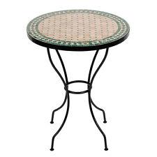 Marokkanischer Mosaiktisch orientalischer Tisch Bistrotisch Gartentisch 60cm Egü