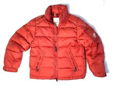 Moncler Kids Boys Down Coat Red Puffer Jacket Sz 8 Ans Years