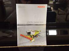 Claas Lexion 670 660 650 630 620 combiner brochure dépliant