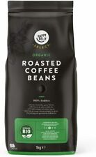 100% Organic 3/5 Strength Roasted Whole Coffee Beans 2KG  Next Day Delivery