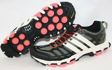 online store 1ab10 0969d NEW Mens Sz 9 ADIDAS adistar Raven 3 B35801 Green Black Trail Sneakers Shoes