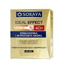 Soraya Ideal Efecto Alisado Firming Crema De Noche 40 + rejuvenecido relajado Skin