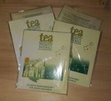5x Sacchetti Sacchetto Profuma Biancheria TEA NATURA gr.12,5 Punto Ecologico Bio