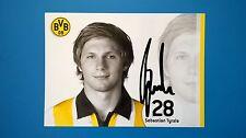 Sebastian Tyrala, ehem. Mittelfeldspieler von Bor. Dortmund  -Originalautogramm-