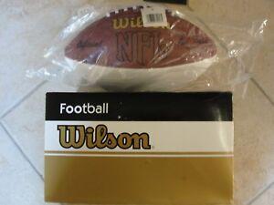 Football   Wilson Autograph Football Blank Rare Vintage FB