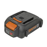 Worx WA3575 20V 2.0Ah Lithium-Ion Battery w/ Fuel Gauge for WG155 WG154 WG153