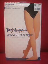 Body Wrappers C30 Children Small/Medium White Full Footed Tights Dance Ballet