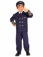 Adults Men/'s Mile High Club Airline Pilot Hugh Jorgan Costume Large 42-44