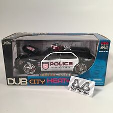 Jada 1/24 Dub City Heat Police Die Cast 2006 Dodge Magnum R/T Hemi Car Sealed