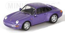 PORSCHE 911 Carrera 1993 purple met. 1/43 MINICHAMPS 430063011
