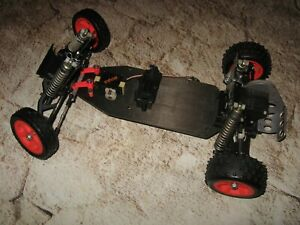 Vintage RC Losi JRX Pro Composite Craft Sponsored 2WD Buggy Roller (1) Used