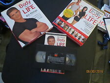 Champions Body-for-Life +Body for Life + VHS Tape Body of work All Like NEW LOT