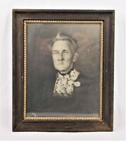 Antique Victorian Wood and Gold Gilt Gesso Picture Frame Fits 9.25 x 7.25