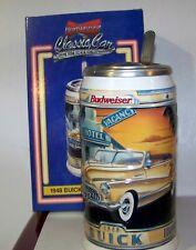 1999 Budweiser Classic Car Series 1948 Buick Roadmaster Stein cs- 418
