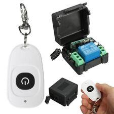Funk Wireless set Relais RF 12V 10A HF-Fernbedienung Schalter Sender + Empfänger