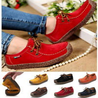 New Women Flats Shoes Loafers Moccasins Ladies Shoes Breathable Driving Flats