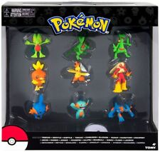 Pokemon Evolution Treecko, Torchic & Mudkip Figure 9-Pack