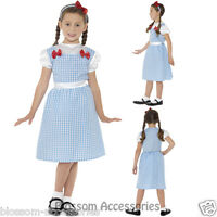 CK438 Country Girl Wizard of Oz Dorothy Book Week Fancy Dress Up Girls Costume