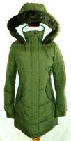 Roxy Womens Roxy Ellie Longline Hooded Waterproof Puffer Jacket Coat Parka ~XS