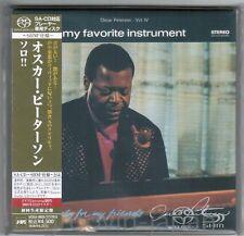 Sealed! OSCAR PETERSON My Favorite Ins JAPAN DSD SHM-SACD UCGU9035 w/OBI+CARD PS