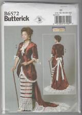Butterick Sewing Pattern B6572 Victorian Edwardian Jacket Skirt Costume Sz 14-22