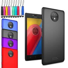 Pour Motorola Moto C - Armure Étui Coque Rigide Arrière Téléphone + Écran +