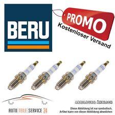 4x Original Beru Zündkerzen Ultra-X Titan 4-Zylinder-Motoren Komplett-Set