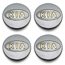SET 4- FREE SHIPPING Kia Sedona Forte Borrego Sportage Wheel Center Caps Hubcaps
