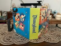 Vintage Disneyland Mickey, Minnie, Donald Duck, Goofy 4x6 100 Photo Album RARE