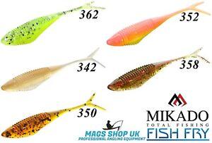 MIKADO ''FISH FRY'' DROP SHOT SOFT LURES, 5.5 CM, MULTICOLOUR 1,PERCH,TROUT,CHUB