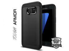 STEALTH BLACK TOUGH ARMOUR SHOCK CASE SAMSUNG GALAXY S6 LIKE SPIGEN LIFEPROOF