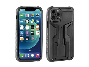 Topeak RideCase iPhone 12/12 Pro Handyhülle Smartphone Black/Gray mit Halter