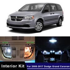 14x LED White Car Lights Interior Package Kit For 2008-2017 Dodge Grand Caravan