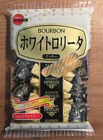 "Bourbon ""WHITEROLLITA"" Japan snack, Long seller, Cookies,"