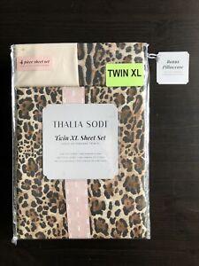 Leopard / Modern / Animal print Twin XL 4 piece sheet set bedding by Thalia Sodi