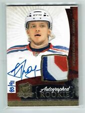 10-11 UD The Cup  Evgeny Grachev  /91  Gold Spectrum  Auto  Patch  Rookie