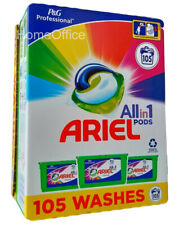More details for ariel washing pods all in1 capsules clothes 105  washes - colour