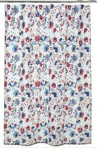 Ikea Kratten Shower Curtain 180 x 180 cm, Multi Coloured