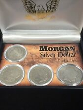 THE MORGAN SILVER DOLLAR 4 COIN COLLECTION