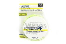 Varivas P.E Line High Grade Yellow Braided Line 200m P.E 1.2 14.9lb (7157)