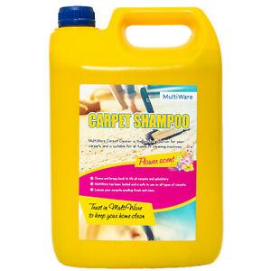 MULTIWARE CARPET SHAMPOO CLEANER CLEANING DETERGENT 5L ODOUR PET DEODORISER VAX