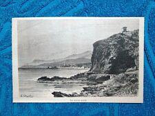 Le Rocce Rosse - Mentone 1882