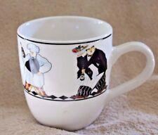 Jenifer Garant Table For Two Majesticware Stoneware Coffee/ Tea Mugs By Oneida