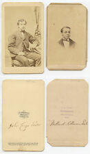 SET OF 2 CDVS MEN IDED ON BACK JOHN LESTER FROM HUDSON, NY/GREAT BARRINGTON, MA